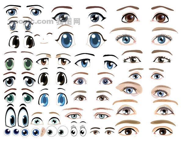 蜗牛的眼部结构示意图