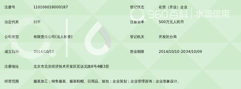 北京快鱼服饰有限公司_360百科
