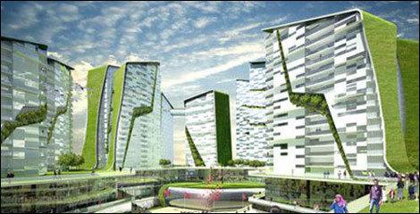 生态建筑设计图