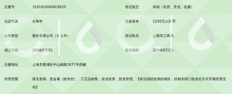 上海昶昱黄金制品股份有限公司_360百科