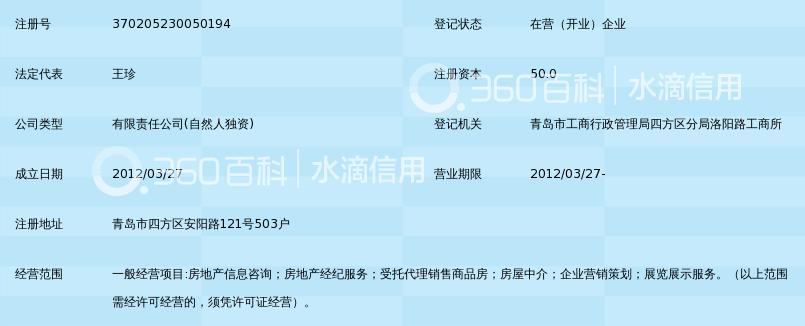 青岛凯旋新城房地产经纪有限公司