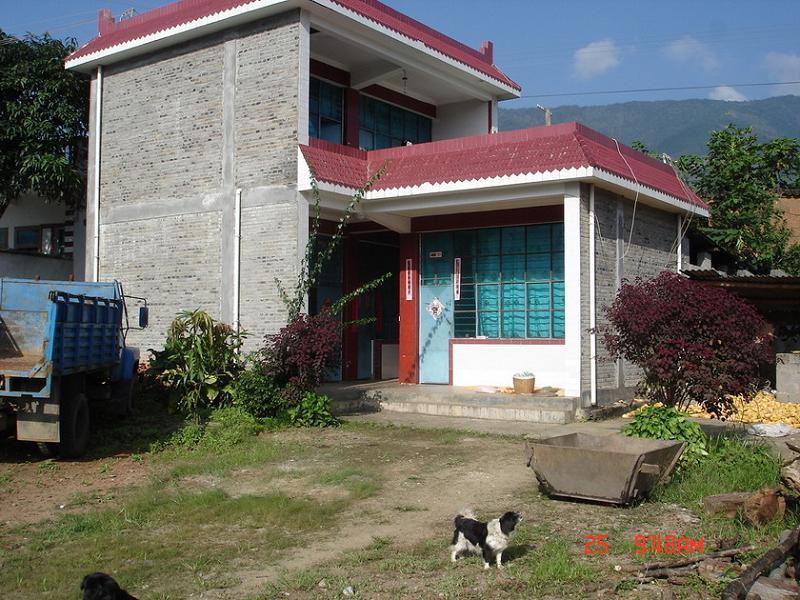 新民居带车库二层砖混结构图