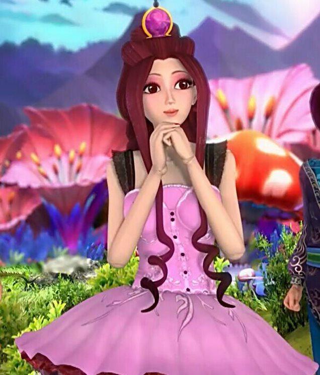 叶罗丽仙子,被女王变成娃娃后,与舒言互相选中,缔结契约,获得了生命和