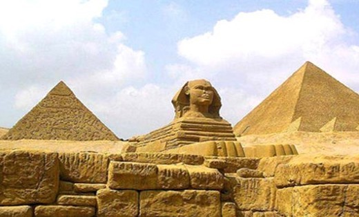 巨大的金字塔,神秘的木乃伊